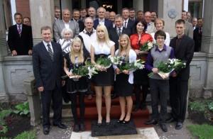 Välja antud stipendiumid 2011